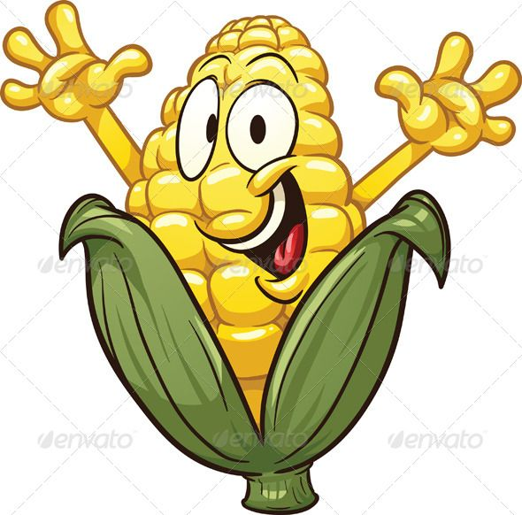 590x582 Cartoon Corn Vector Graphics Graphic Prints And Cartoon Maize