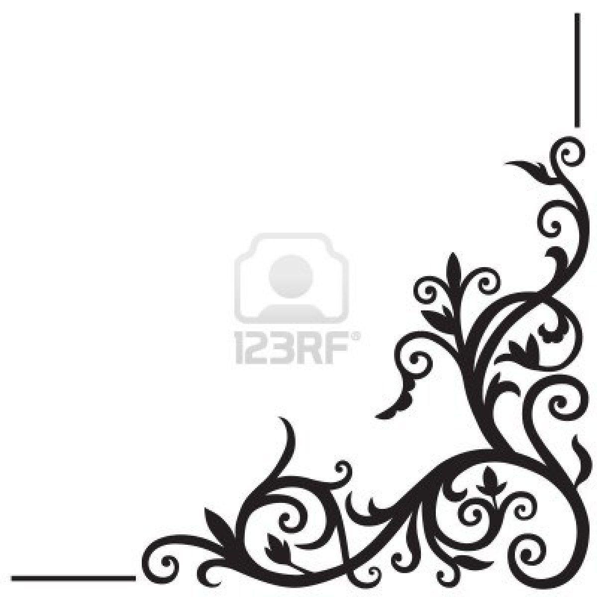 1200x1200 Easy Flower Border Design Drawing