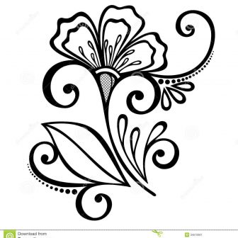 336x336 Border Drawing Free Corner Design Clip Download A In Word Around