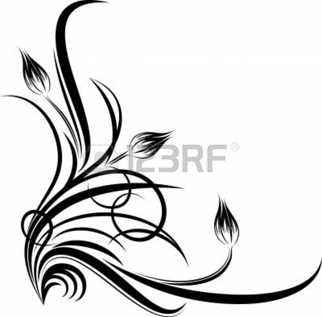 1024x1009 Corner Clipart Flower Border Clip Art Beautiful Floral