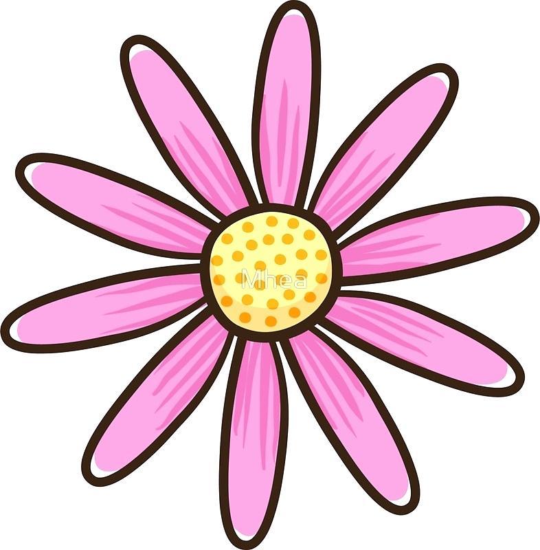 786x800 Daisy Flower Clip Art Common Outline Stephanielahart