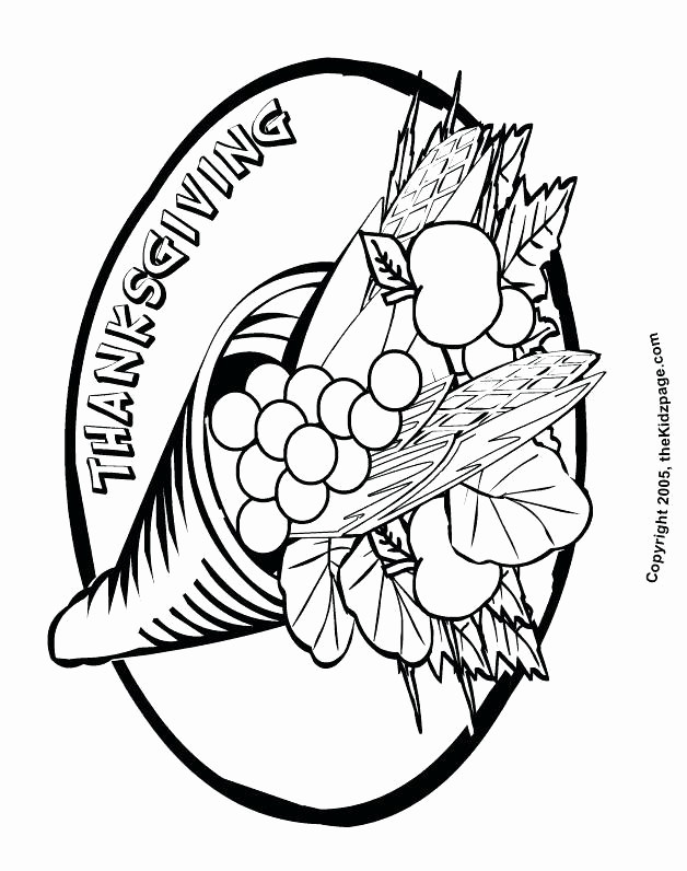Cornucopia Drawing   Free download on ClipArtMag