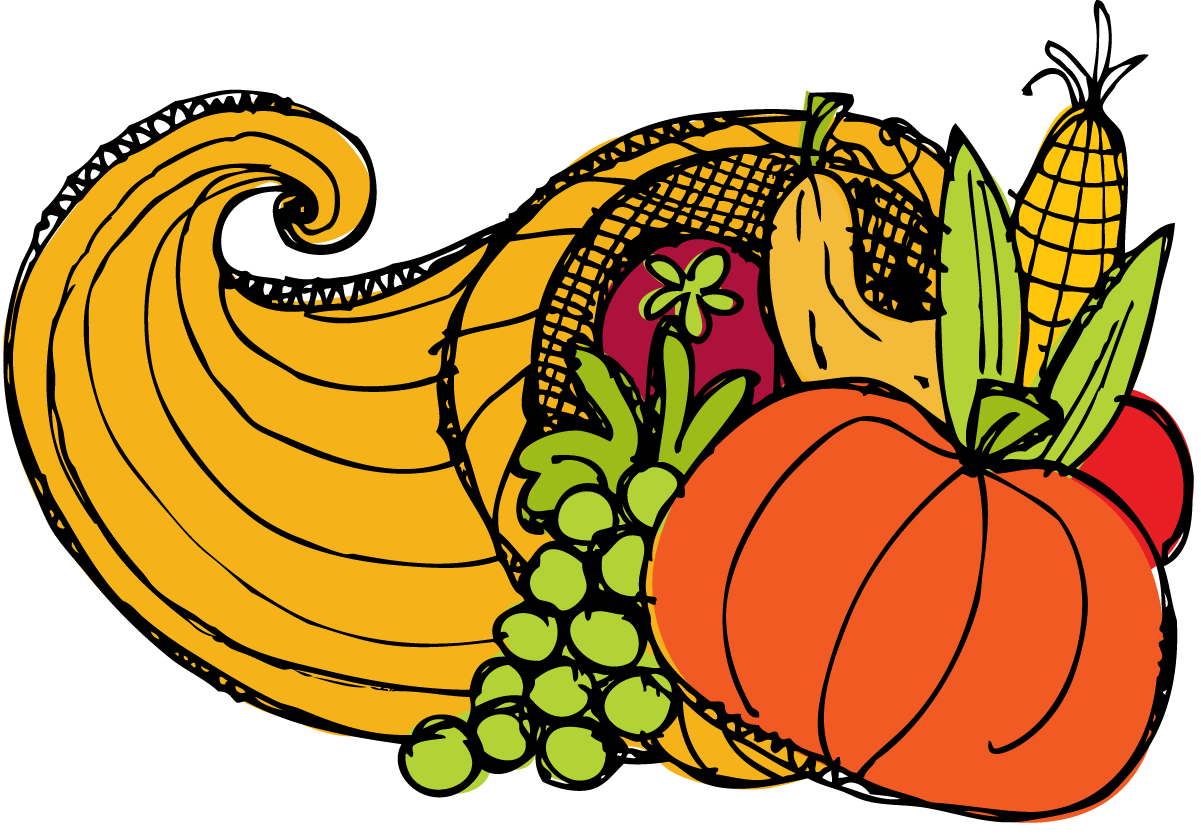 Cornucopia Drawing | Free download on ClipArtMag