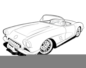 Corvette Drawing Free Download On Clipartmag