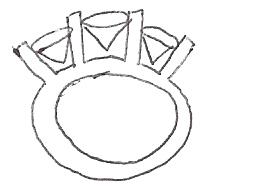 260x186 Custom Platinum Setting Preliminary Drawingcost Pricescope Forum