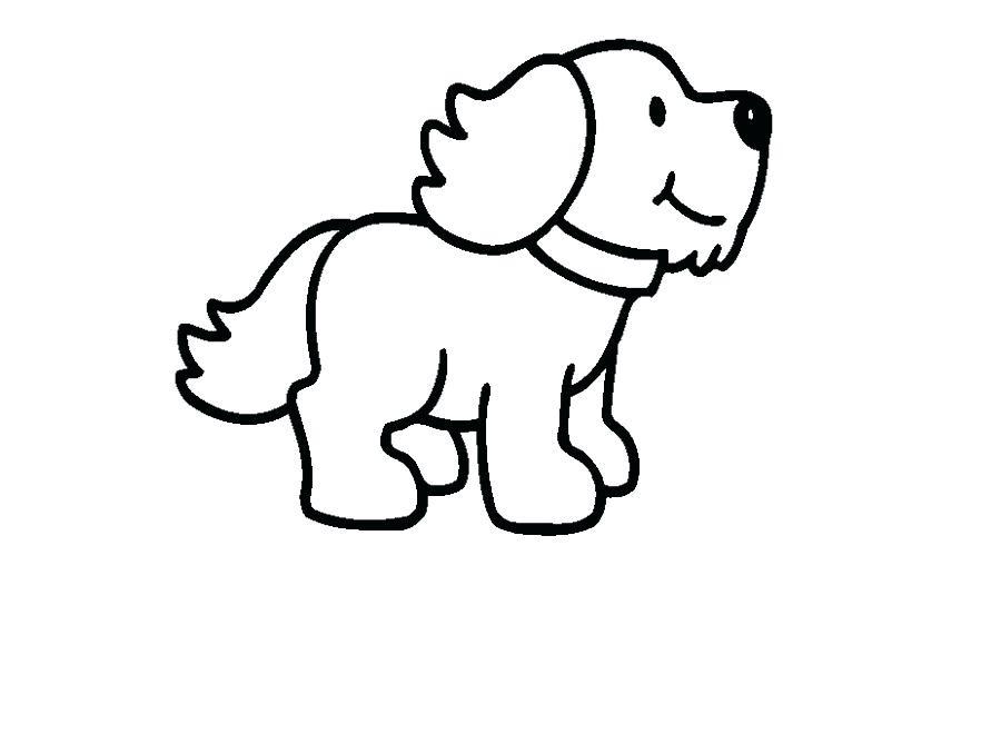 900x660 Drawing Puppies Draw Cartoon Puppy Step