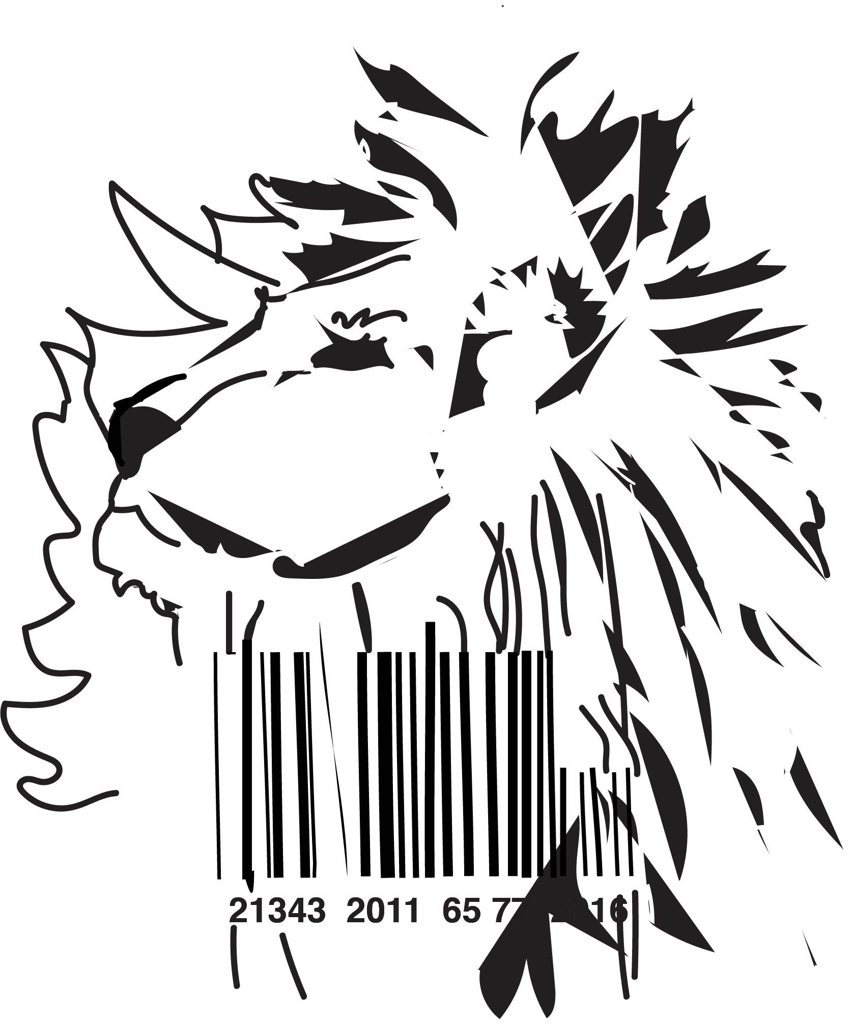 1676x2015 Barcoded Lion