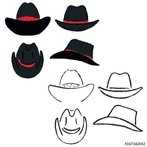 500x500 sheriff cowboy hat cowboy hat drawing cowboy sheriff cowboy hat