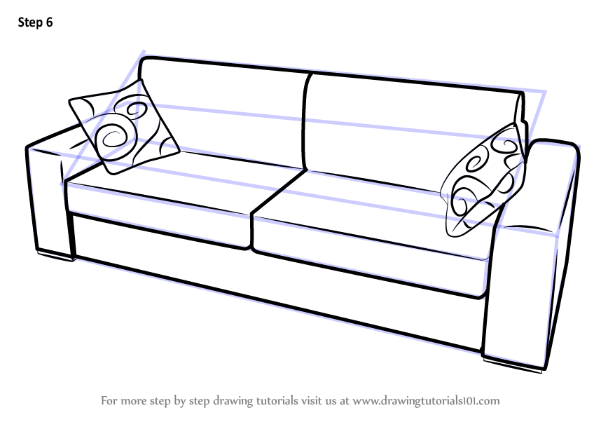 848x602 fancy couch drawing leather couch image of fancy couch drawing