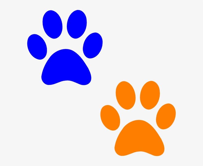 820x668 Cougar Paw Print Clip Art
