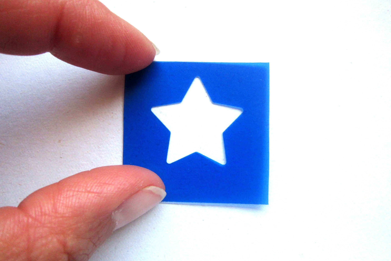 2816x1880 stencil plastic star plastic stencil stenciled drawing etsy
