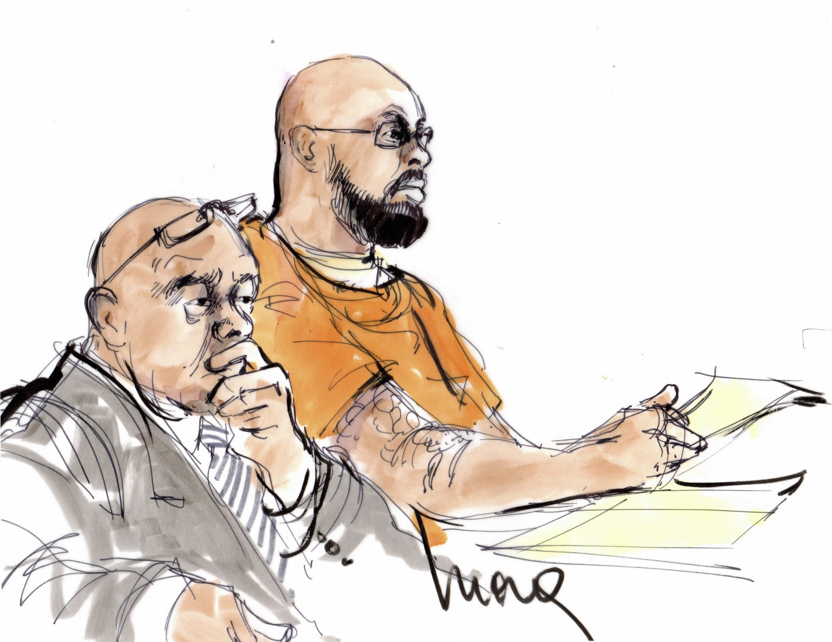 1650x1275 From Suge Knight To Jack White Court Room Illustrator Mona