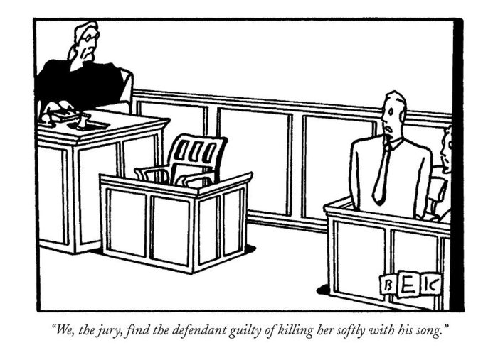 700x500 We, The Jury, Find The Defendant Guilty Greeting Card For Sale