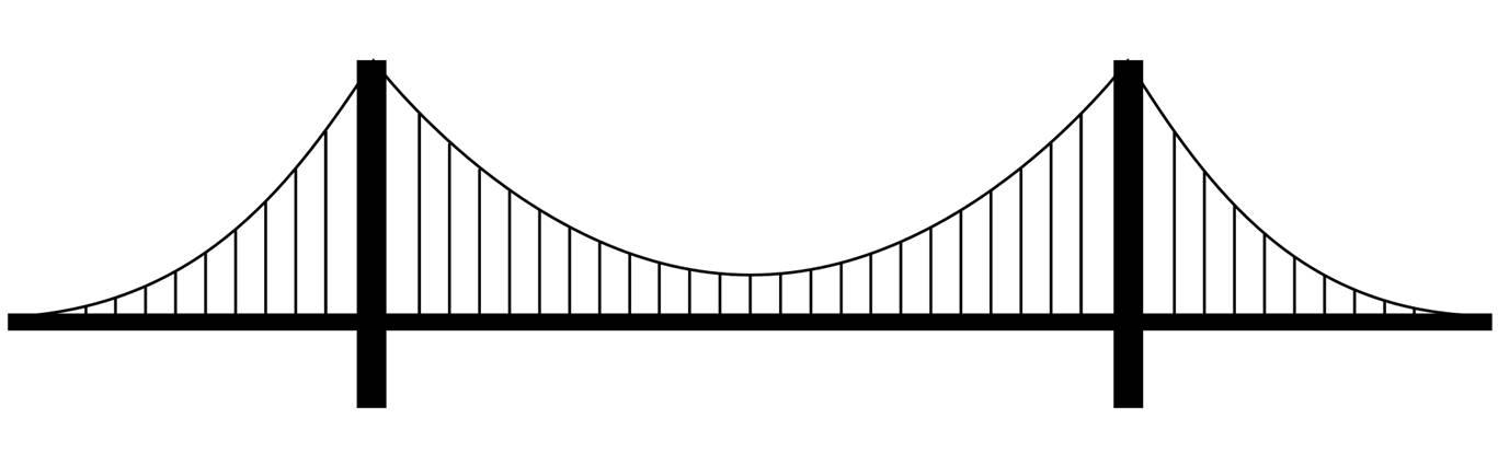Covered Bridge Drawing