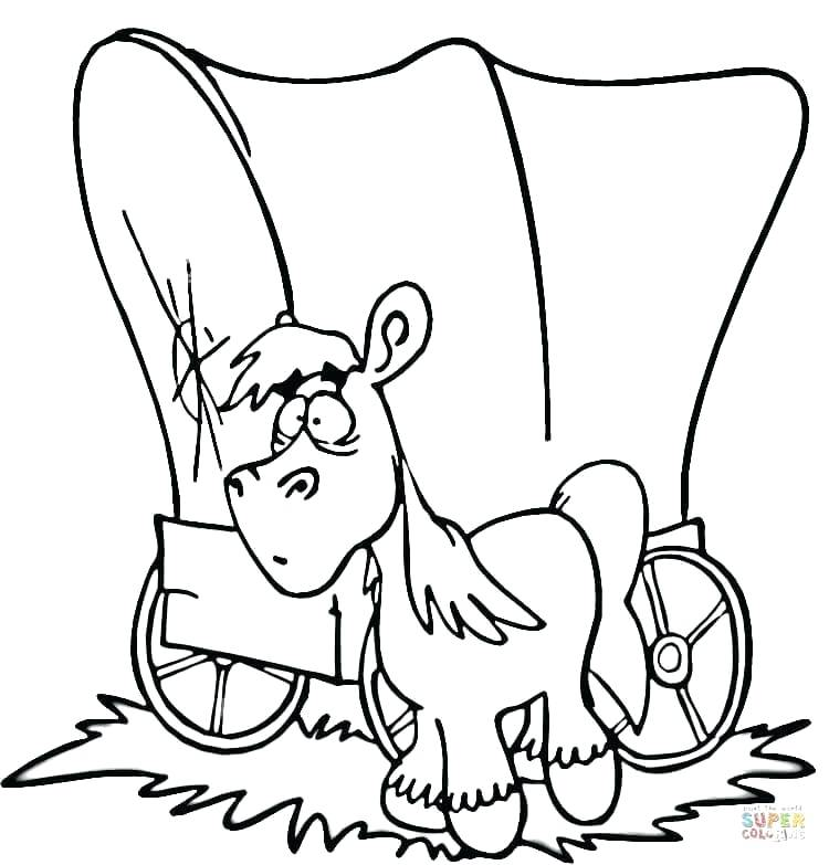 750x783 hay coloring pages covered wagon hay day coloring pages