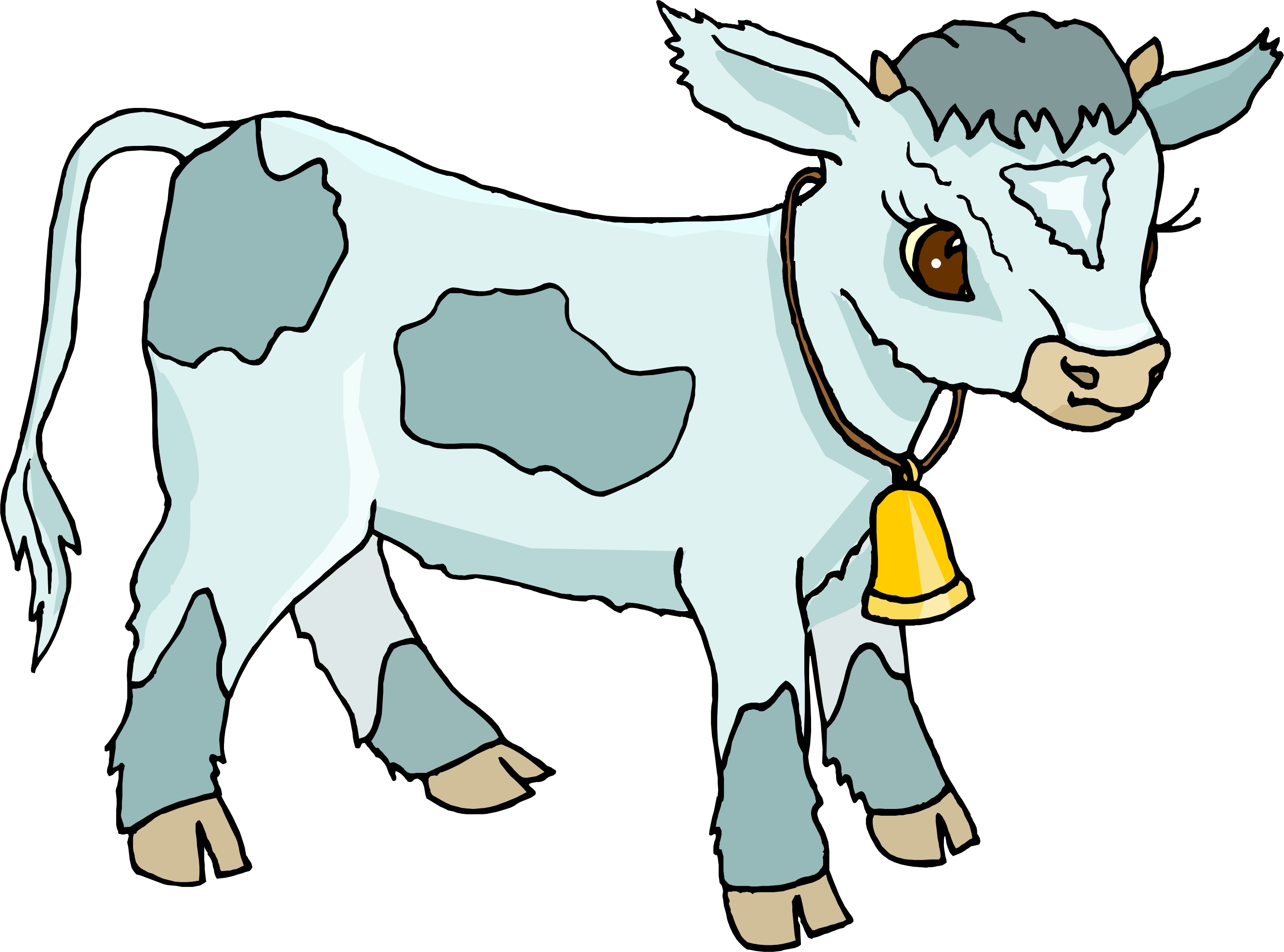 Cow And Calf Drawing   Free download best Cow And Calf