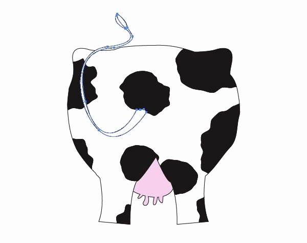 600x474 drawing cartoon cows lovely cow clipart cow ornament vector cow