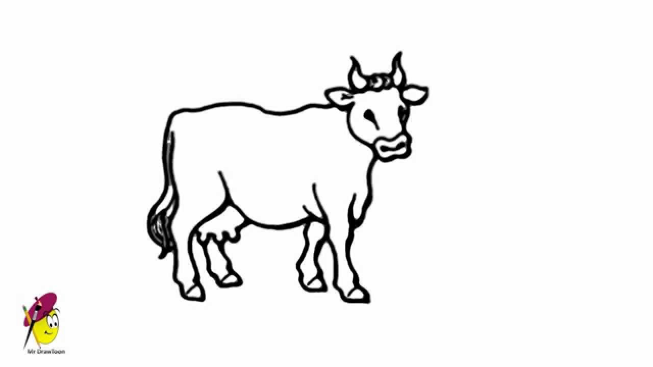 Cow Images Drawing