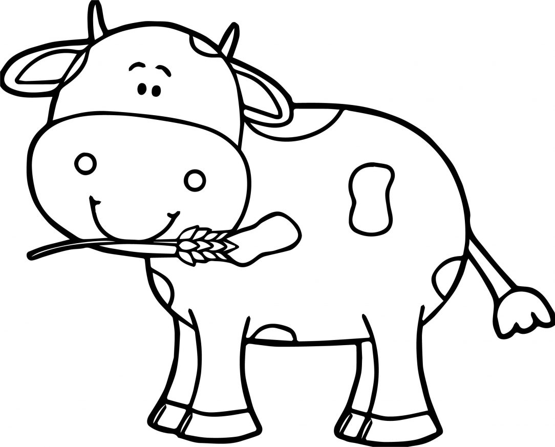 1084x873 Cute Baby Cow Cartoon Of A To Draw Vector Ajedrezdeen Trenamiento