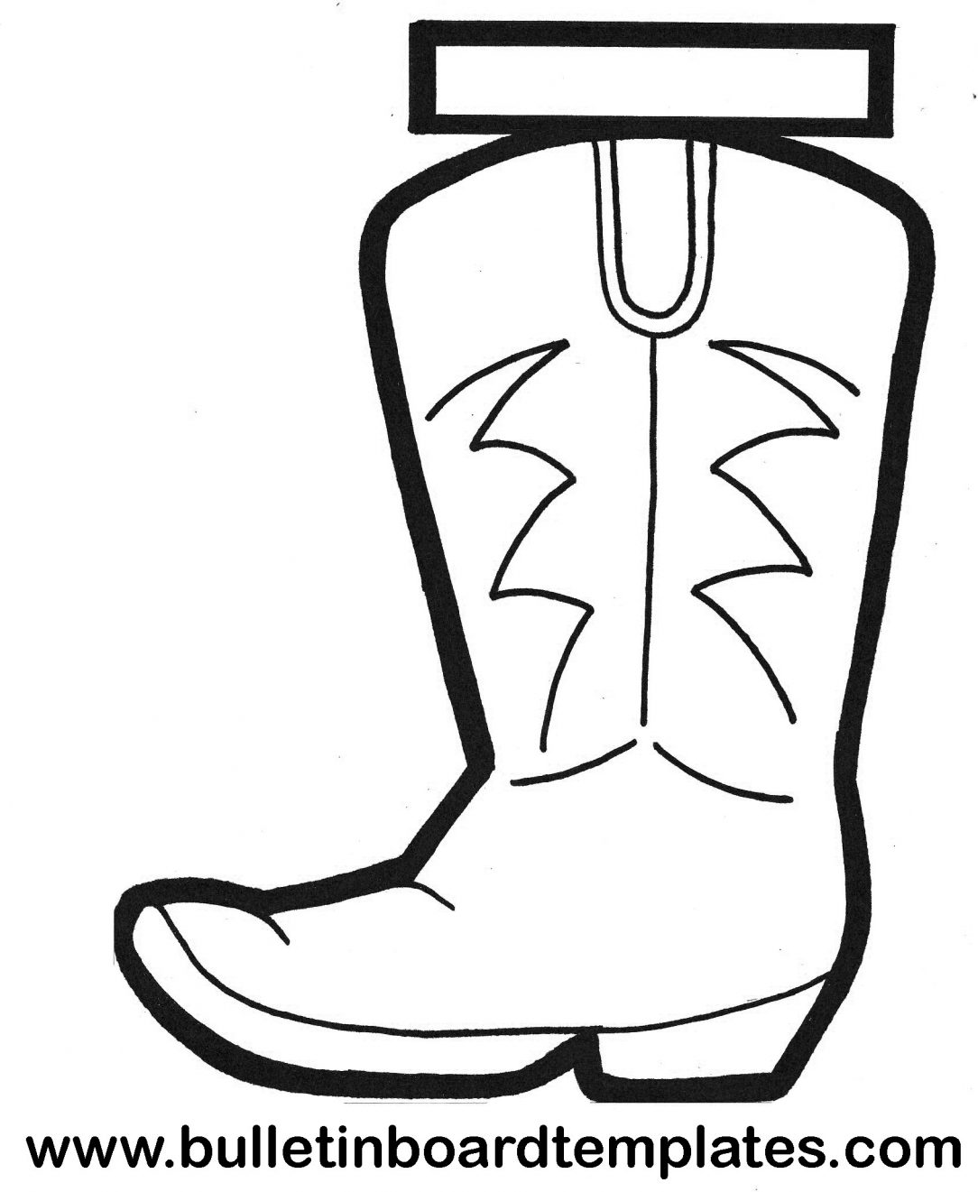 1084x1321 Cowboy Boots Drawing Step