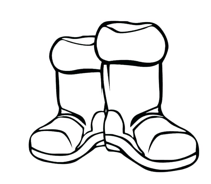 699x610 Rain Boot Coloring Pages