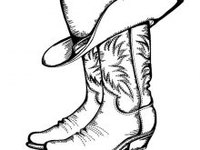 220x165 Cowboy Boot Logo Image Result For Cowboy Boots Drawing Cards Paper