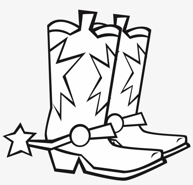 820x785 Cowboy Boots And Spurs