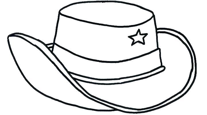 Cowboy Drawing Easy