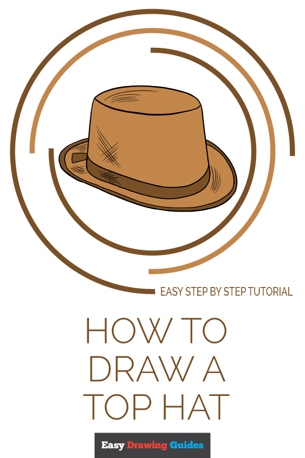 600x900 How To Draw A Top Hat