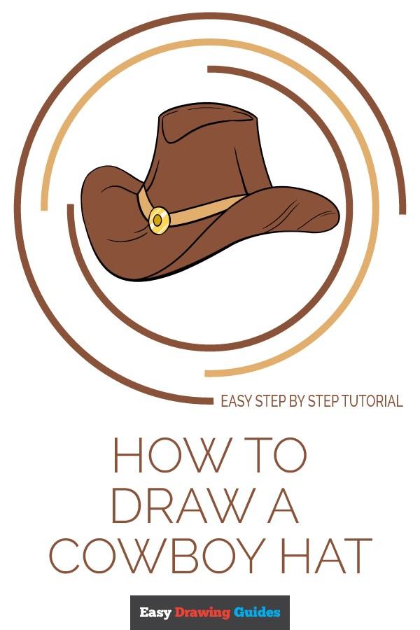 600x900 Or Easy Cowboy Drawings