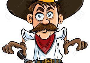 300x210 Draw A Cartoon Cowboy How To Draw A Cowboy