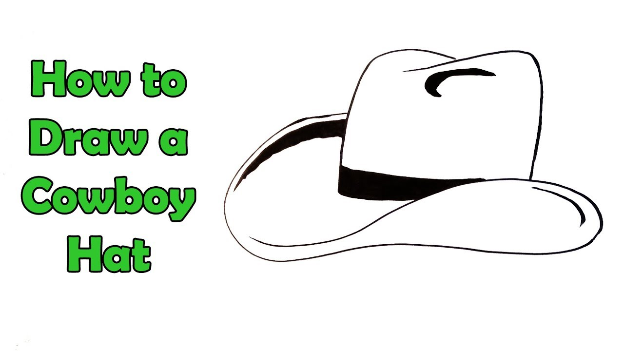 1280x720 How To Draw A Cowboy Hat