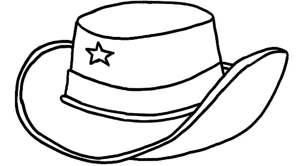 600x333 Shining Design Cowboy Hat Coloring