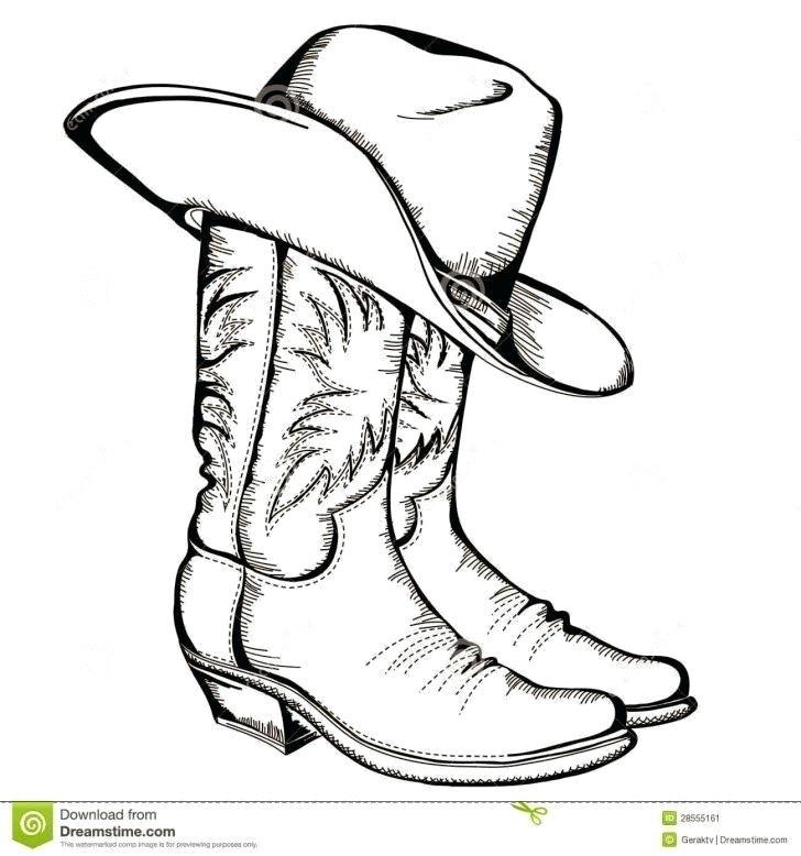 728x778 cowboy hat drawing cowboy hat drawings and clip art library cowboy