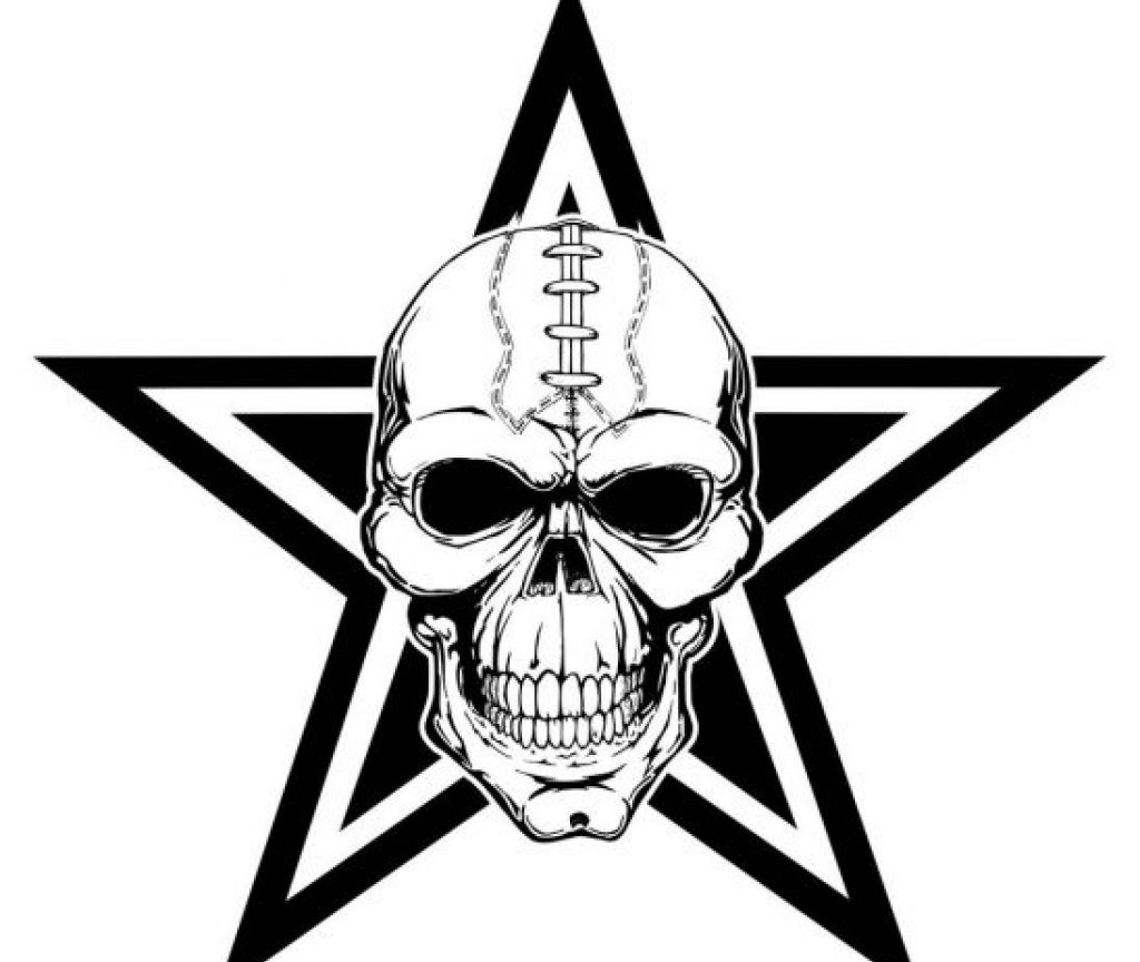 1024x864 Dallas Cowboys Coloring Pages Logo Nfl Sheet Staggering Cowboy