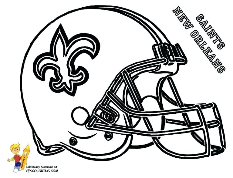 768x587 Football Printables Coloring Pages Template Coloring