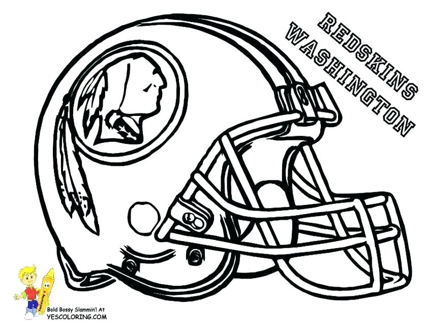 840x649 Coloring Book Pages Football Nfl