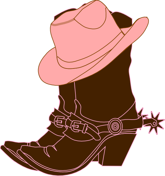 558x596 Cowgirl Boots Clip Art Stock Black And White Huge Freebie