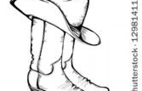 470x300 Cowgirl Boots And Hat Clipart Collection