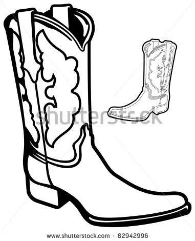 381x470 How To Draw Cowboy Boots Step Like Cowgirl Drawing