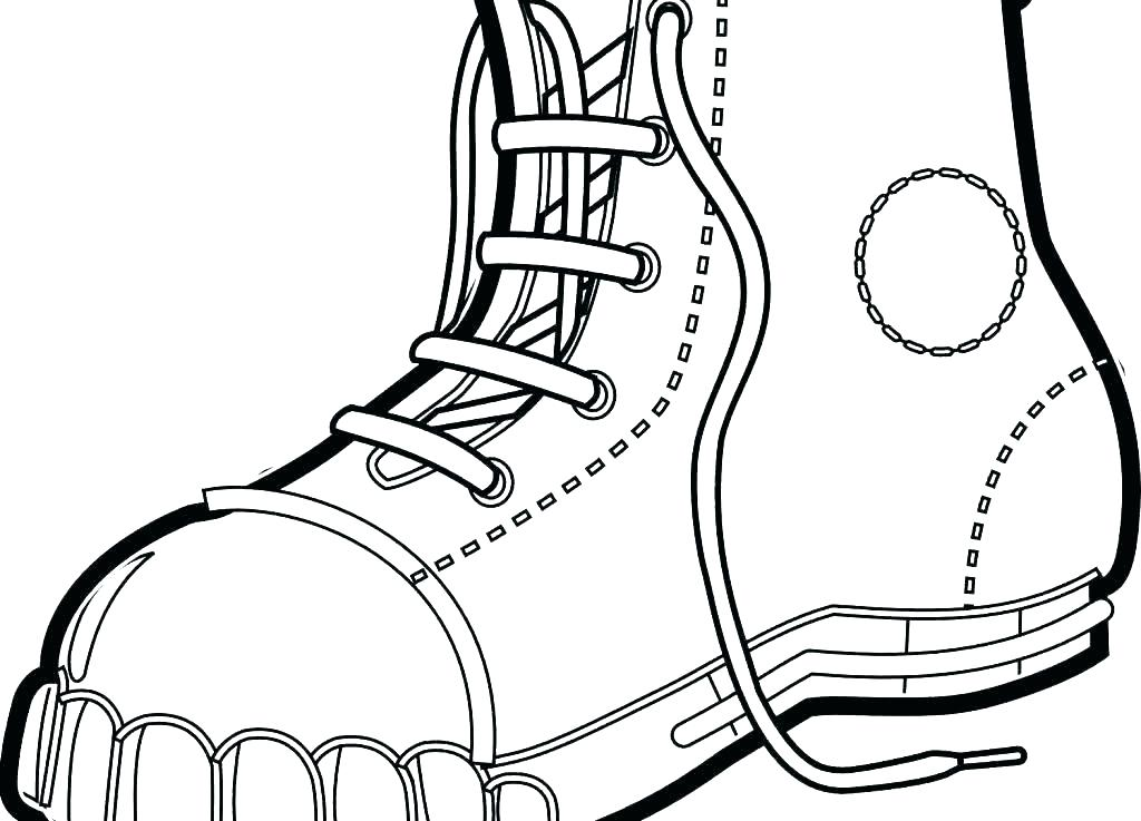 1024x737 Cowboy Boots Coloring Pages