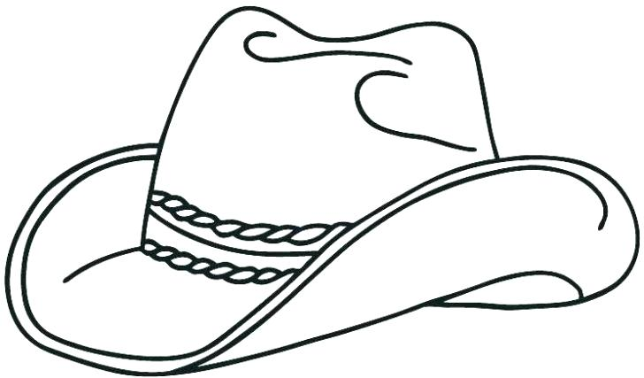image regarding Cowboy Hat Printable known as Cowgirl Hat Drawing Totally free obtain easiest Cowgirl Hat Drawing