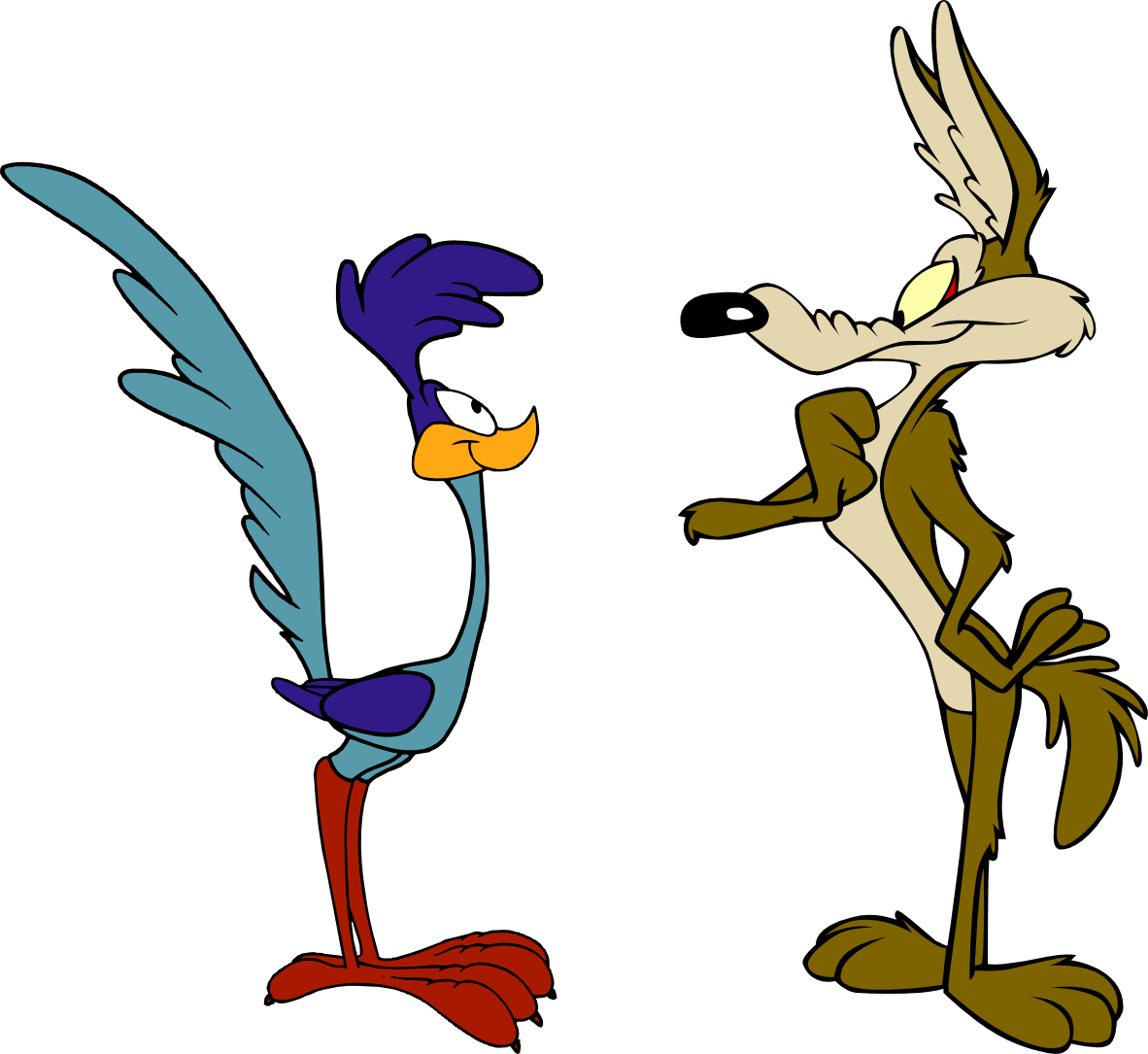 1182x1085 The Adventures Of Wile E Coyote And The Road Runner