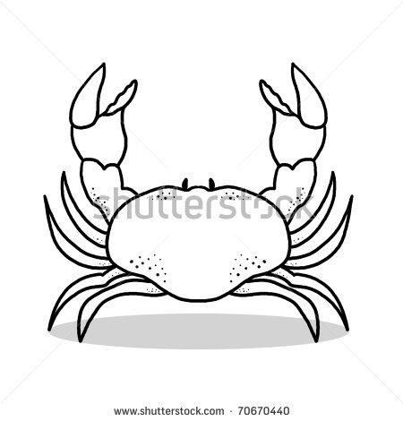 450x470 crab illustration outline drawing of a crab tattoos crab