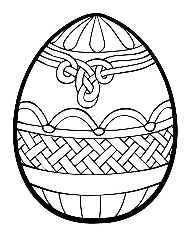 736x911 easter eggs coloring eggs drawing at egg coloring