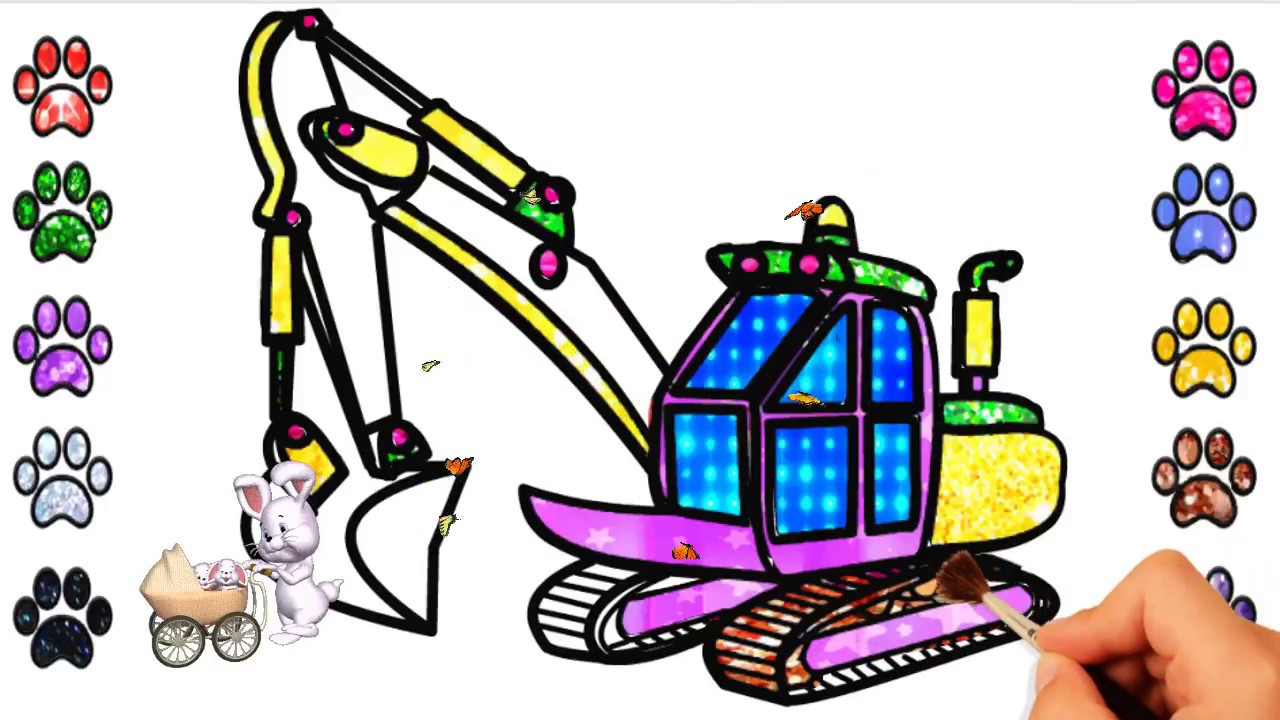 1280x720 how to draw crane truck drawing crane truck for kids drawing