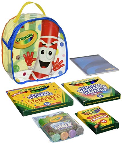 425x501 Crayola Art Buddy Pip Squeak Character Backpack Art