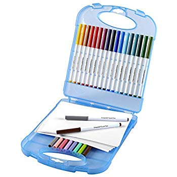 350x350 Crayola Super Tips Washable Markers Paper Set