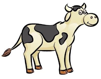 400x314 Draw Crazy Cow Animal Vogue