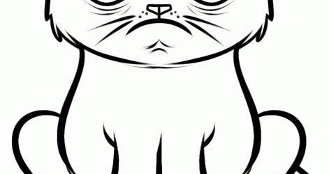 471x250 Drawings Clipart Cat Cartoons Crazy Funny And Cute Easy Carmi